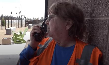 Radioaficionados en el incendio forestal Tinder de Arizona