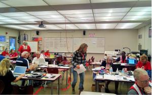 Voluntarios ARES en el condado Shasta