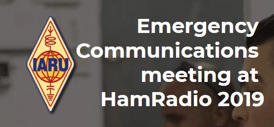 Reuni贸n de comunicaciones de emergencia – Friedrichshafen 2019