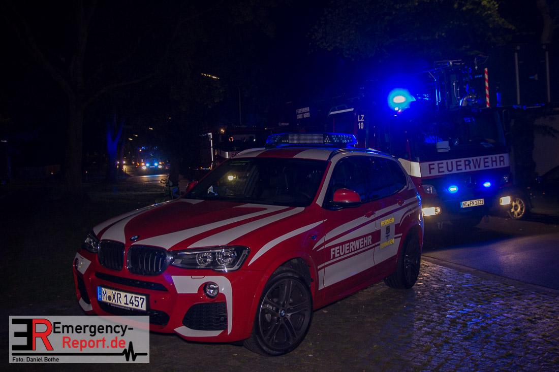 13082015  Neuss Pomona  Geschirrspler fing Feuer