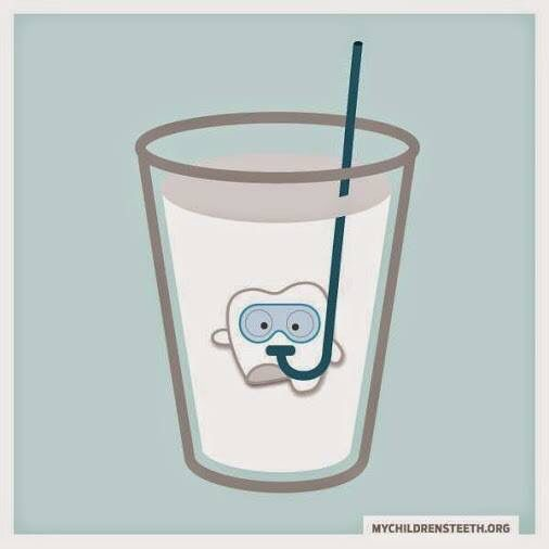 store knocked out tooth in milk until you get to an emergency dentist