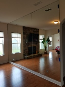 We can install, remove or replace mirrored walls.