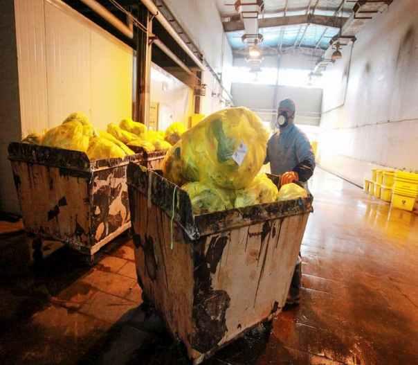 Epidemic of Contaminated Waste