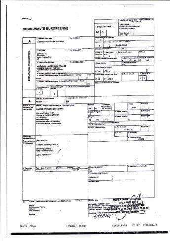 Envoi d'EMERGENT à CONNECTIC dossier douanes françaises EX1 2010_Page12