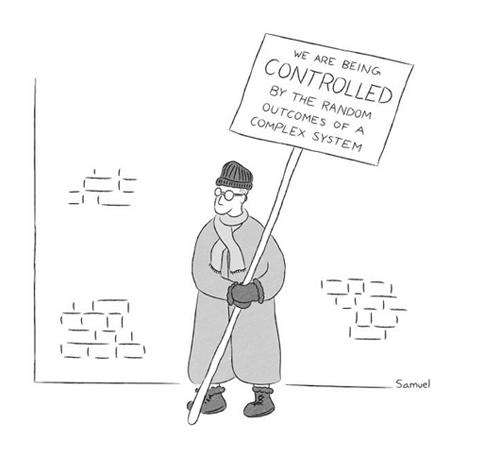 Samuel Cartoon New Yorker framed