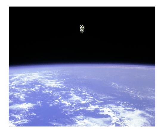 Bruce McCandless Space 500