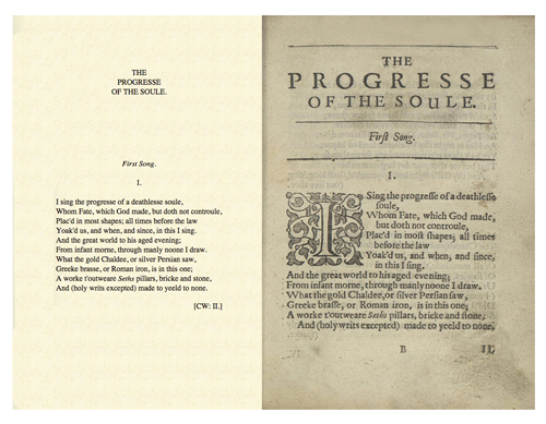 John Donne Progress Soul