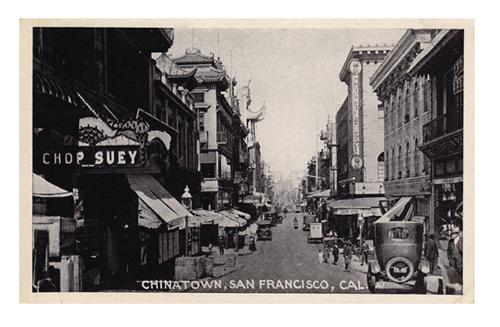 San Farncisco Chinatown