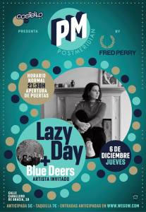 LAZY DAY + BLUE DEERS @ Costello Club