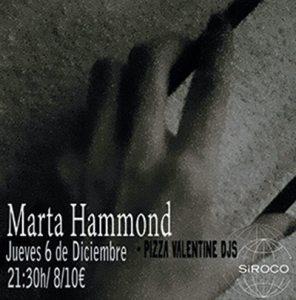 MARTA HAMMOND @ Sala Siroco