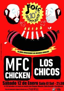 MUSIC FOR CHICKEN @  Sala el Sol