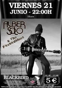 ALBER SOLO & THE FIREBIRDBLUES @ Blackbird Rock Bar