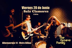 THE GROOVE FAMILY @ Sala Clamores