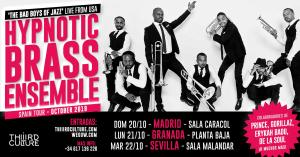 HYPNOTIC BRASS ENSEMBLE @ SALA CARACOL MADRID