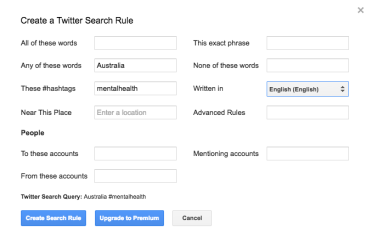 First search rule.