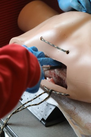 Attendees at Chest Tube 1