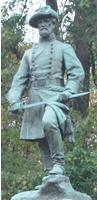 Stephen Dill Lee Statue Vicksburg(courtesy of Vicksburg NMP)