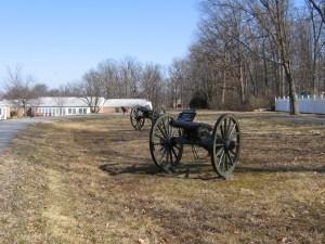 Guns along Jones' line.