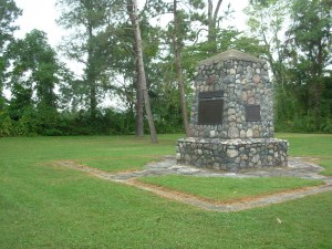 Stone Monument Commemorating the Battle of Buffington Island