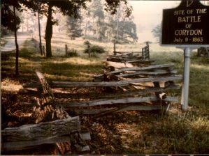 Site of the Battle of Corydon