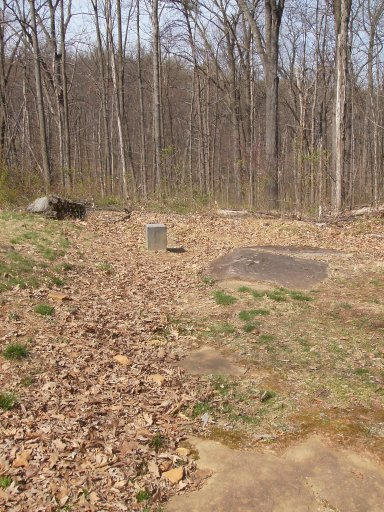 Looking from the position of the 1st Maryland Monument toward the left flank of Steuart's Brigade on Culp's Hill