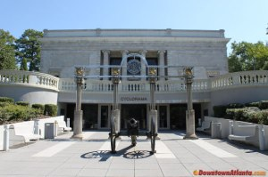 The Atlanta Cyclorama located in Grant Park