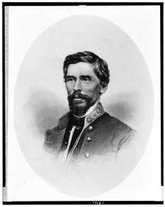 Maj. Gen. Patrick Cleburne. Cleburne opposed Sherman at Tunnel Hil. Courtesy of the Library of Congress.