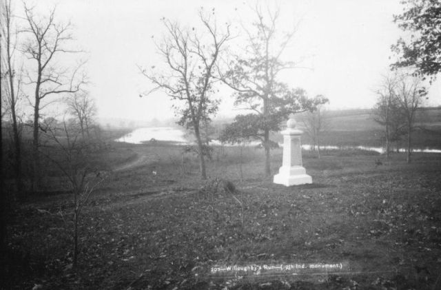 Willoughby Run, where Archer was captured on July 1, 1863