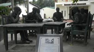 King Surrender Memorial Balanga - Spot of Famous Picture