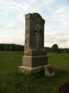 15th New Jersey Monument at Spotsylvania Court House.