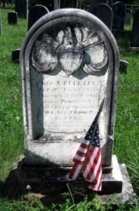 Corporal George A. Bucklin, 10th Vermont, buried at Read Cemetery, Danby, Vermont