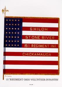 The 15th Ohio's flag