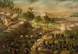 Battle_of_Resaca_1864_c1889