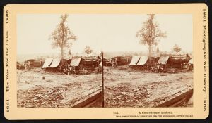 A Confederate redoubt at the North Anna River. Courtesy of the Library of Congress.
