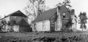 The Fairfield Plantation. (Fredericksburg and Spotsylvania National Military Park Collection.)