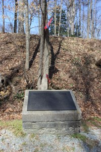 """Another of the """"Freeman Markers"""" informing readers of the Battle of Totopotomoy Creek"""