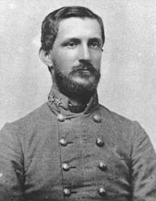 Major General Robert Hoke, whose division was sent north from Petersburg, Virginia to provide much needed reinforcements for Lee's army.