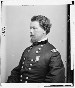 Horatio Wright's VI Corps was chosen to lead the Union infantry advance to Cold Harbor. Courtesy of the Library of Congress.
