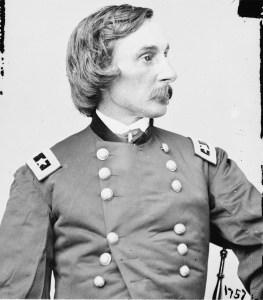 Major General G. K. Warren. Courtesy of Library of Congress.