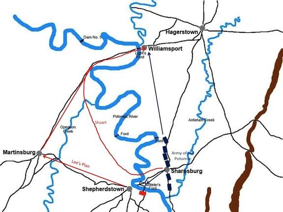 Shepherdstown map