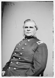 Daniel Bidwell, one of Getty's brigade commanders who was mortally wounded during the fighting in the Middletown Cemetery. Courtesy of the Library of Congress.