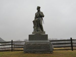 The 149th Pennsylvania Monument at Gettysburg.
