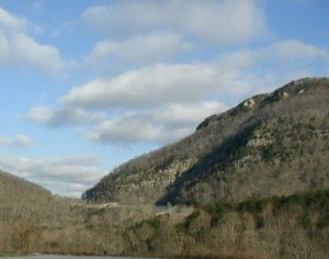 A modern view of Cumberland Gap