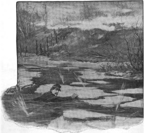 Captain Smith Swims Rowanty Creek (Deeds of Valor)