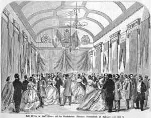 Ball at Ballaarat (State Library of Victoria, Melbourne)
