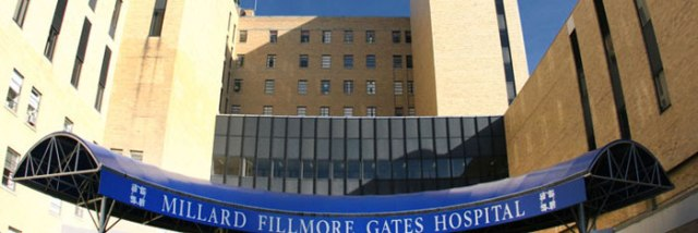 The former Millard Fillmore Gates Hospital in Buffalo (photo courtesy Kaleida Health)