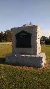 Monument erected in 1927 by the United Daughters of the Confederacy and the North Carolina Historical Commission.