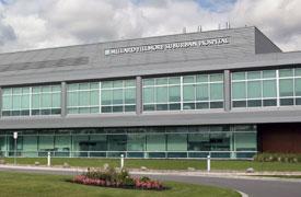 The Millard Fillmore Suburban Hospital in Williamsville, NY (photo courtesy Kaleida Health)