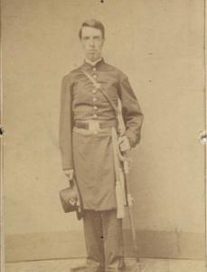 Lieutenant Hiram Clark, 185th New York