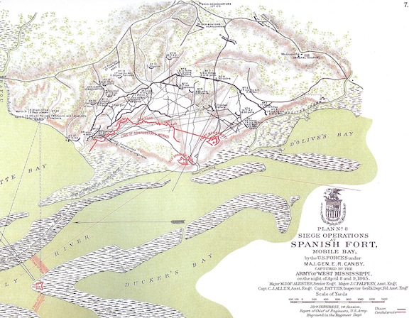 Map Spanish Fort